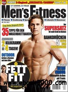 Men's Fitness - March 2013 free download