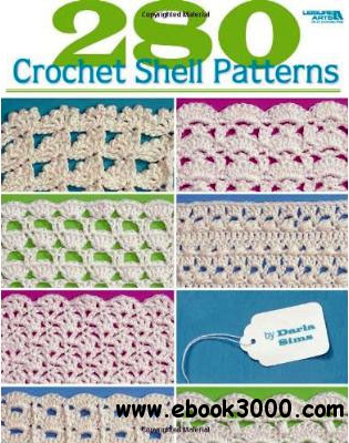 Crochet Stitches Book Free Download : 280 Crochet Shell Patterns - Free eBooks Download