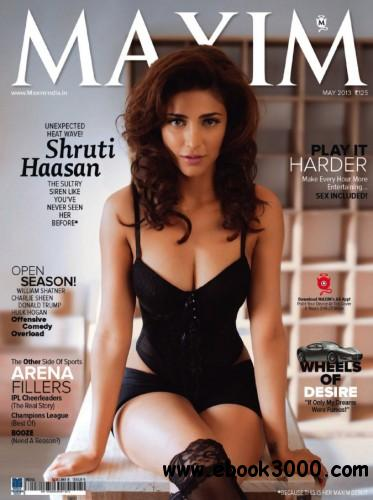 Maxim India - May 2013 free download