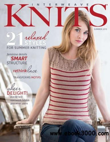 Interweave Knits - Summer 2013 free download