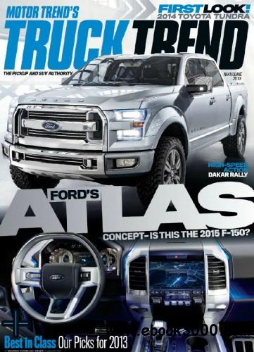Truck Trend - May June 2013 free download