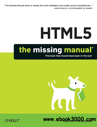HTML5: The Missing Manual free download