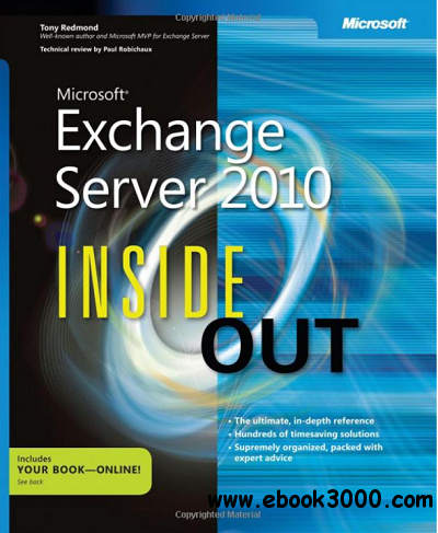 Microsoft Exchange Server 2010 Inside Out free download