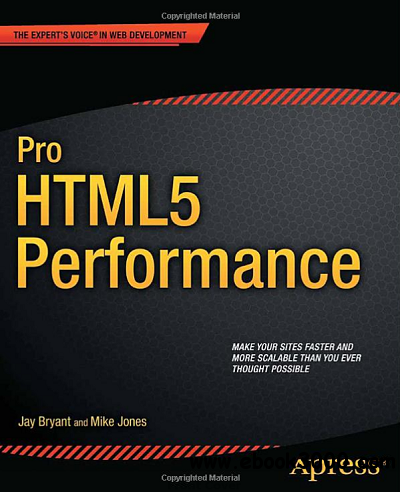 Pro HTML5 Performance free download