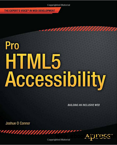 Pro HTML5 Accessibility free download