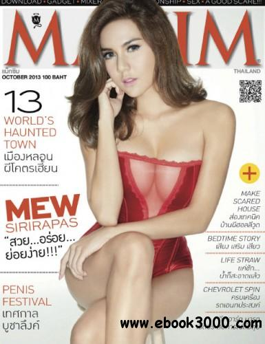 Maxim Thailand - October 2013 free download