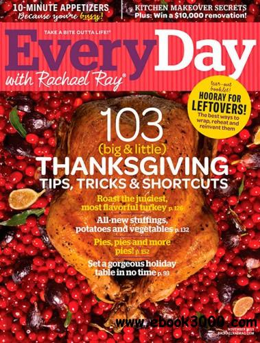 Every Day with Rachael Ray - November 2013 free download