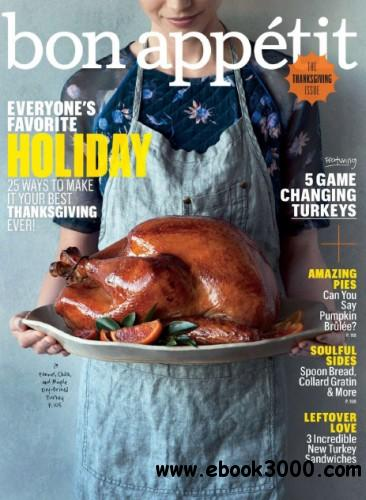 Bon Appetit - November 2013 free download